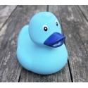 Badeend baby blauw 8 cm B