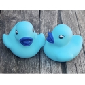 Rubber duck baby blue B (100: € 0,90)