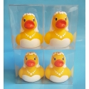 Rubber duck wedding Bride B (per 100: €1,75)
