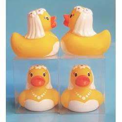 Rubber duck wedding Bride B (per 100: €1,75)