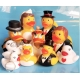 Rubber duck dark groom DR  Wedding gifts