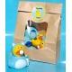 Rubber duck baby blue DR  Babyshower gift