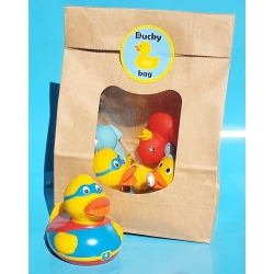 DUCKYbag Baby Boy 5 Stück Superman  Pullerparty gift