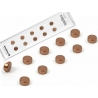 Super strong mini magnets set of 10 flat copper