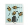Mini fridge magnets Mouse Toppolino