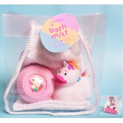 Uniciorn bath gift bag  Giftset