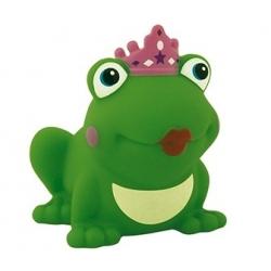 Kikker koningin met kroon gekleurd D  Kikkers mee bestellen