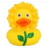 Rubber duck Sunflower LILALU