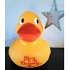 Rubber duck XL 30 cm Text or Logo