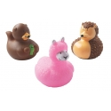 Rubber duck mini  cute animals  (per 3)