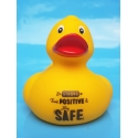 Corona duck Be STRONG think POSITIVE & stay SAFE yellow