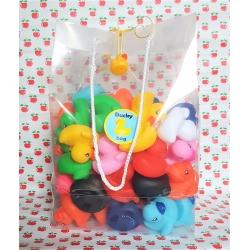 DUCKYbag 50 mini eendjes 5cm  Overige kleuren