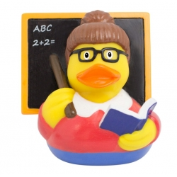 Rubber duck teacher LILALU  Lilalu