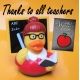 Rubber duck teacher LILALU  Lilalu
