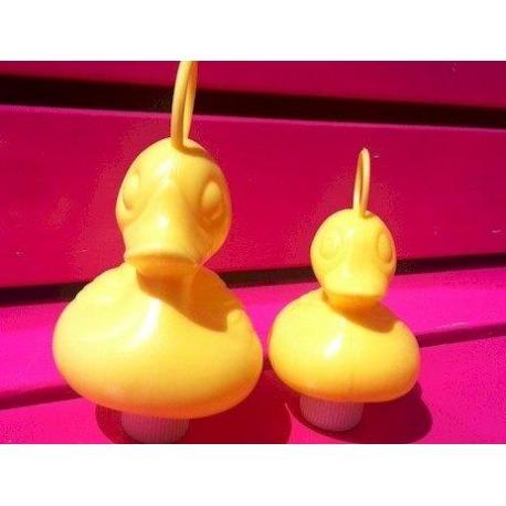 Ente mit Haken klein gelb  Kermisenten