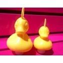 Ente mit Haken klein gelb