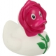 Rubber duck Rose LILALU  Lilalu