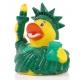 Badeend vrijheidsbeeld New York USA DR  Wereld eendjes
