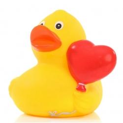 Badeend hart ballon DR