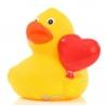 Rubber duck heart balloon DR