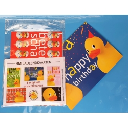 Rubber duck postcards a piece  More