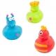 Rubber duck mini monster (per 3)  Mini ducks