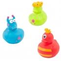 Rubber duck mini monster (per 3)