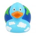 Rubber duck Globe LILALU