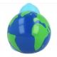 Rubber duck Globe LILALU  Lilalu