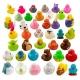 Set of 600 different ducks DESIGN 3  Mini ducks
