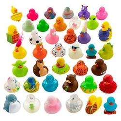 Set van 600 verschillende badeendjes DESIGN 3  Mini eendjes