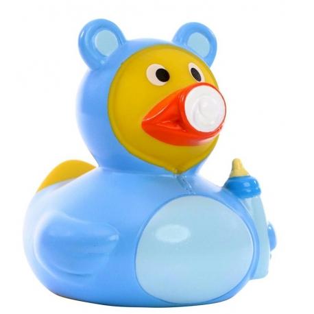 Badeend baby blauw DR  Kraamkado
