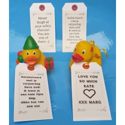 Personal Message  Labels &  pers. message