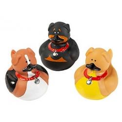 Rubber duck mini dog (per 3)  Mini ducks