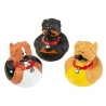 Rubber duck mini dog  (per 3)
