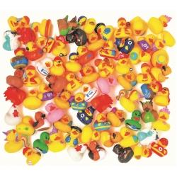 Set van 600 verschillende badeendjes nieuw design  Mini eendjes