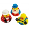 Rubber duck mini circus  (per 3)