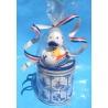 Rubber duck DUTCH DUCKY Delfts Blue Stroopwafel gift