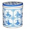 Delfts Blauwe blik met Stroopwafels