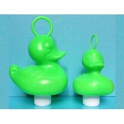 Funfair duck small blue green