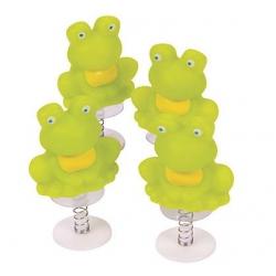 Pop-Up frog spring kikker  Sleutelhangers