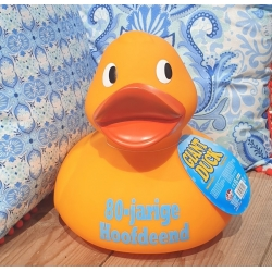 Rubber duck XL 30 cm Text or Logo  Home