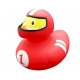 Rubber duck Racer red LILALU  Lilalu